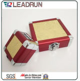 Вахта хранения ювелирных изделий случая состава алюминиевого багажа перемещения вагонетки коробки хранения резцовой коробка алюминиевого косметический носит случай (YS118)