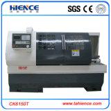 Preço econômico da máquina de giro do CNC do torno da maquinaria do CNC da base lisa de baixo custo para a venda Ck6150t