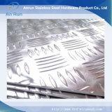 Chapa perforada de aluminio para escaleras antideslizante