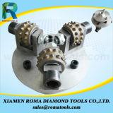 Romatools Diamant-reibende Hilfsmittel der Bush-Hammer-Räder