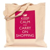 식료품류와 시장에 이용되는 면 쇼핑 백
