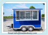 Chariot mobile commercial de nourriture de Shawarma de gril