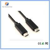 男性データ充電器ケーブルへのUSB-C USB 3.1のタイプC男性
