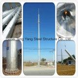 Antena de aço Transmissão Pólo Monopole Torre de Comunicação