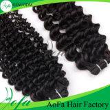 Cabelo não processado do brasileiro do Virgin da extensão do cabelo humano de Remy da qualidade superior