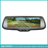 7.3 Inch Full Screen Rear View Mirror with Mirror Link and Information Synchronization