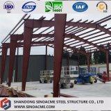 Forme portique en acier Sinoacme d'entrepôt de bâti d'envergure simple