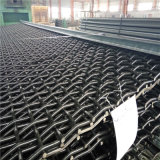 Acoplamiento de alambre prensado minero