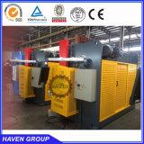 Máquina hidráulica del doblez del hierro del nc del precio barato, dobladora con E21 el sistema WC67K-300T/4000