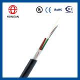 Cable de fibra óptica al aire libre en stock 24 Core GYFTY