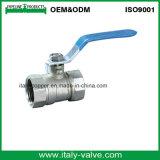Válvula de bola de aço inoxidável de níquel de bronze (AV1000)