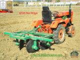 農場トラクター高い働き効率の引かれたディスクRidgerのすき