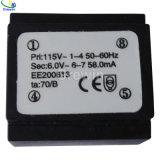 Tipo E-I trasformatore incapsulato dell'alimentazione elettrica con l'IEC