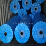De Blauwe Plastic PE Stof van uitstekende kwaliteit van het Geteerde zeildoek