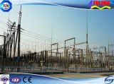 High Tension Steel beeps to Electric power Transformer Substation (TT-004)