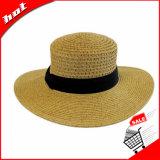 يوسع حافة قبعة ليّنة قبعة إمرأة قبعة
