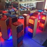 Straßen-Blinker-blinkende Solarwarnleuchte der Verkehrssicherheit-LED