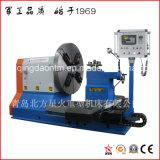 Torno de alta velocidad del CNC de la alta calidad usado para trabajar a máquina la rueda de aluminio (CK64125)
