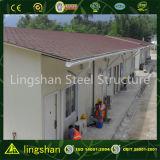 Casa prefabricada de la estructura de acero del bajo costo de Qingdao