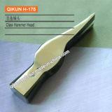La mano del hardware della costruzione H-175 lavora la testa di martello diritta lucidata specchio