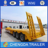 50 tonnellate Low Bed Loader Trailer per Construction Machinery