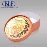 Cilindro de papel impresso de caixas de papelão redondas (BLF-GB043)