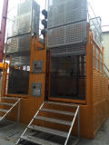 Het Rek van de Reeks van Sc en het Hijstoestel die van de Pignon de Lift van /Construction opheffen