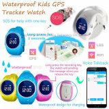 Le suivi GPS étanches IP67 regarder pour les enfants avec Geo-Fence D11