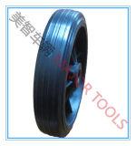 10X3 rueda de goma sólida con ventilador-nave borde para remolque de barco