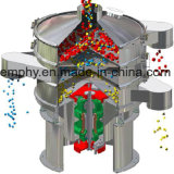 setaccio di vibrazione rotativo circolare 316L per la polvere del pigmento