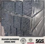 Pre гальванизированная пробка и труба квадратного Gi Q195 стальная для столба загородки