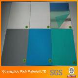 Espejo de color de lámina de plástico acrílico de hoja de espejo para la decoración