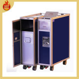 Aluminium Aline Aviation Aircraft Rubber Trolley Cart for Storage