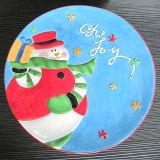 Plat en céramique peint à la main de vaisselle de Noël (GW1290)