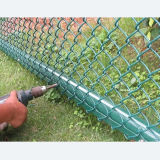 Venta caliente PVC cubierta de la cerca de enlace de cadena
