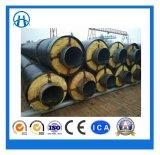 Camisa de aço Lã de Vidro do tubo de vapor com isolamento de isolamento de alta temperatura resistente ao calor do Tubo de Aço