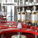 Sunswell PE jus en bouteille de lavage machine d'étanchéité de remplissage