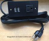 Ons drijven Contactdoos met USB aan Aanrekenend lgt-222