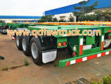 최신 판매! 40ft 3 Axle Container Trailer