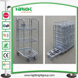 Lavandaria Wire Mesh Roll Cage Container Trolley