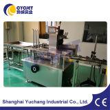 Vervaardiging cyc-125 van Shanghai de Automatische Machine van de Verpakking van de Cachou/Kartonnerende Machine