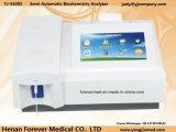 Ordinateur portable semi-automatique de la composition de l'analyseur analyseur de biochimie de la santé