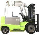 Forklift elétrico do equipamento da logística 3 toneladas