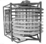 フルオートマチックの螺線形のコンベヤーのトーストの螺線形の冷却塔