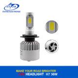 Prix réduit 36W 4000lm 6500k H7 S2 COB Lampe tête LED pour le remplacement du phare de voiture