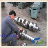 42CrMo forjou o eixo de manivela de aço a máquina terminada