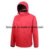 Куртка мягкой раковины с капюшоном водоустойчивая