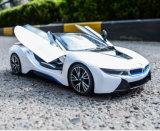 Coche modelo accionado por control remoto de radio del juguete del 1:14 Bmwi8 de la escala del coche de RC