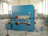 Cuatro tipo de vulcanización de goma prensa de vulcanización de la máquina/cuatro pilares de la columna de la placa automática