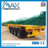 반 대형 트럭 트레일러 40FT 콘테이너 트레일러